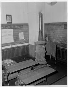 Interior of All-Black School