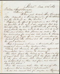Letter from Alfred Harry Love, Philad[elphi]a, [Pa.], to William Lloyd Garrison, [August] 13th 1864