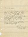 Eugene Avery Adams papers, 1892-1968, folder 97; no date