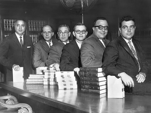 33. 1964, Merle McCurdy's Staff of Assistant U.S. Attorneys for the Northern District of Ohio