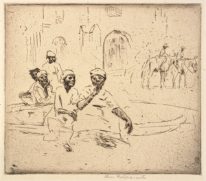 Negro Woman at a Fountain