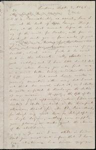 Letter from William Lloyd Garrison, London, [England], to Helen Eliza Garrison, Sept. 3, 1846
