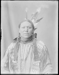 Dakota man, Thomas Crow. U. S. Indian School, St Louis, Missouri 1904