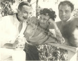 Katherine Dunham, John Pratt and friend