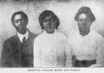 Hampton Collins Moon and family
