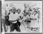 [African American demonstrators march in downtown Birmingham, Alabama]
