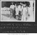Prize winners at picnic in Woodland Park, Seattle, ca. 1932