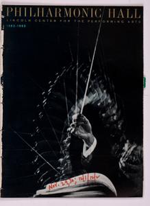 1962 December Program Magazine, Dec 01, 1962 - Dec 31, 1962