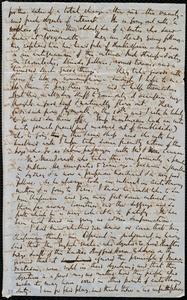 Partial letter from Richard Davis Webb, [Dublin?, Ireland], to Emma Forbes Weston, [27 April 1853?]