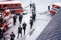 Riots; Detroit; Race Riot; July 1967; Snipers.
