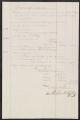 List, supplies to plantation
