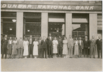 Staff of the Dunbar National Bank, Harlem, New York City, circa 1930