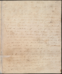 Letter from William Lloyd Garrison, New Haven, [Conn.], to Isaac Knapp, April 11, 1833