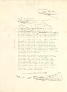 Letter from Philadelphia Negro Catholics to W. E. B. Du Bois