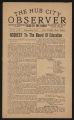 The Hub City Observer Volume 2, Number 51, July 13, 1929