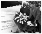 Leo B. Marsh at Dr. Martin Luther King Jr's grave.