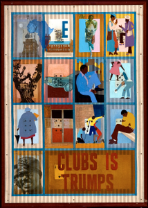 Clubs is trumps