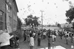 Balloon Release at school, Los Angles, 1983