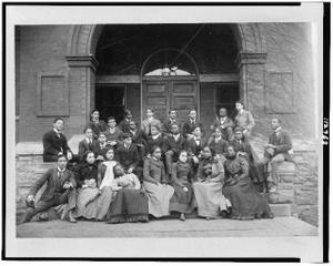 Senior preparatory class of Fisk University, Nashville, Tenn., before 1906