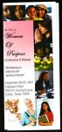 Women of purpose conference & retreat flier, COGIC, Dallas, 2007