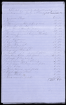 Schedule for property destroyed, July 12,1863
