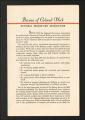 Historical Materials (Pre-Merger), 1890-1965. National Recreation Association (NRA). Bureau of Colored Work. (Box 18, Folder 23).