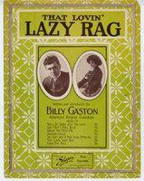 That lovin' lazy rag