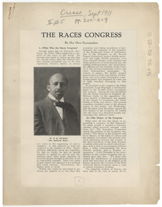 The races congress