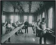 Knowles Hall-wood Lathe Room