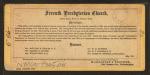 Seventh Presbyterian Church. Broad Street, north of Chestnut Street, Philadelphia