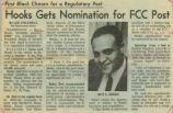 """""""Hooks Gets Nomination for FCC Post"""""""