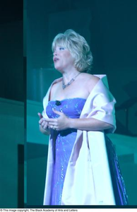 Unidentified Woman on Stage Dallas Arts Gala