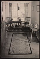 Interior of Five Acres: Dining room