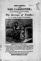 The Carpenter, or, The danger of evil company ; The sorrows of Yamba, or, The Negro woman's lamentations.