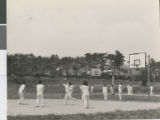Students from Ibaraki Christian Schools Playing Sports, Ibaraki, Japan ca.1950-1965