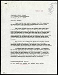 Letter from S. Dillon Ripley to John J. Rooney, dated February 21, 1974
