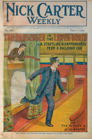 The passenger in the lower berth, or, A startling disappearance from a railroad sleeping-car