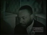 WSB Clip of Martin Luther King, Jr., 1960