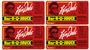 Labels for Ken Davis BBQ sauce packages