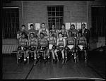 H[oward].U[niversity] Boxing Team [from envelope] [acetate film photonegative,] Apr. 1949
