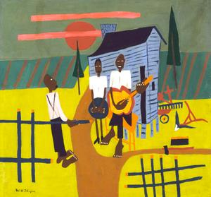 Thumbnail for Folk Scene--Man with Banjo