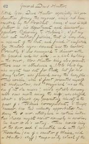 Thomas Butler Gunn Diaries: Volume 20, page 72, June 19, 1862