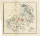 Map to accompany Weeks' Southern Quakers and slavery
