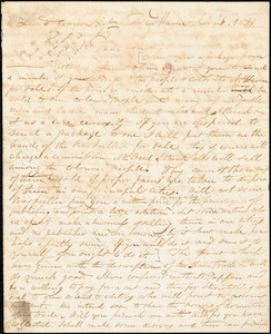 Letter from Simeon Smith Jocelyn, New Haven, [Connecticut], to William Lloyd Garrison, 1831 July 26