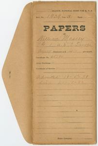 Case File of William Massey