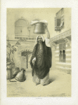 Young Arab Girl returning from the Bath. Cairo