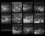 Set of negatives by Clinton Wright including NAACP banquet, Mint Hotel and Dinner at Kit Carson, 1967