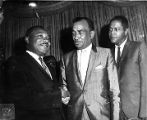Dr. Martin Luther King Jr., Cecil B. Moore, and Georgie Woods