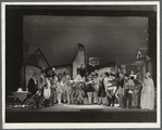 Pinocchio cast on stage