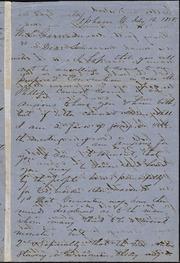 Letter to] Dear Sir [manuscript